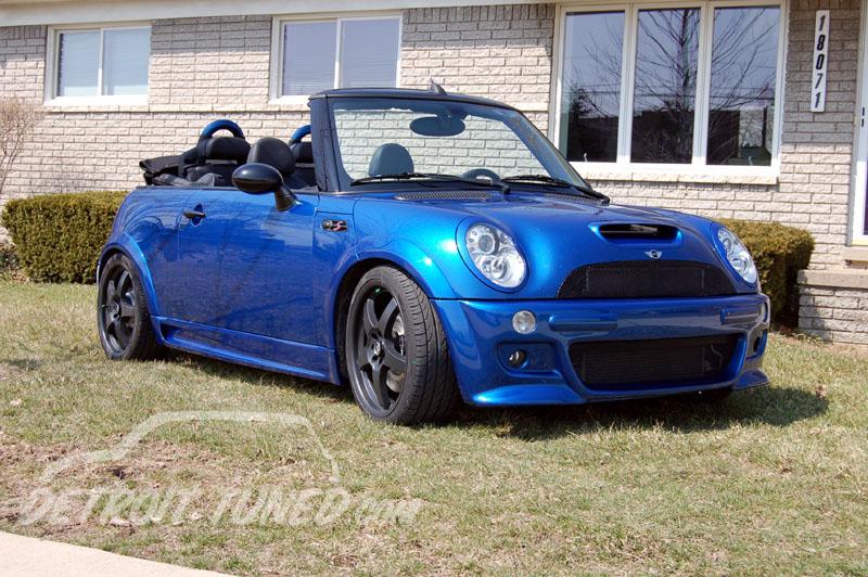 2005 Hyper Blue MINI Cooper S Cabrio - Chakik