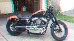 Red 5 Harley Nightster