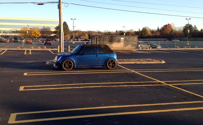 Parking lot at Work