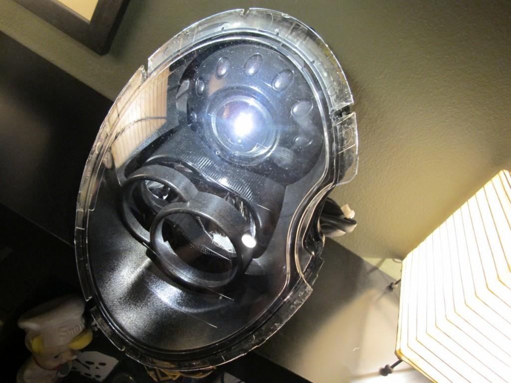 Joey Mod Mini Headlight Blackout Blueminicooper Com